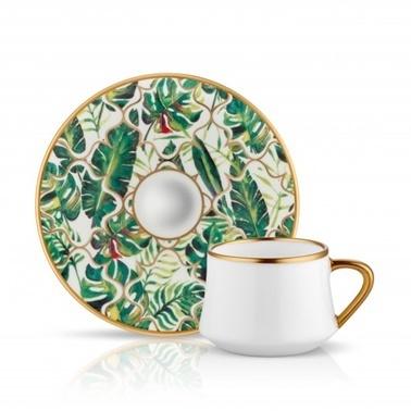 Koleksiyon Sufi Türk Kahvesi Seti Amazon Ekvator Renkli